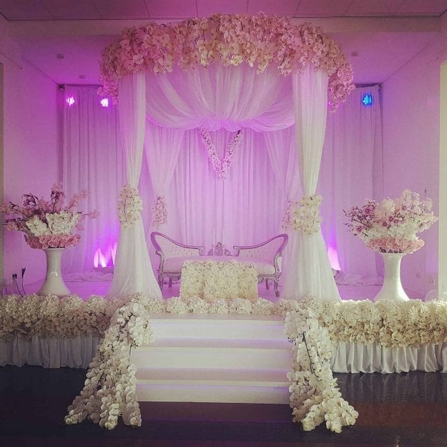 Orchid bride stage